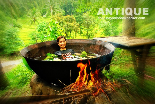 Outdoor Bathing Bliss in Tibiao, Antique