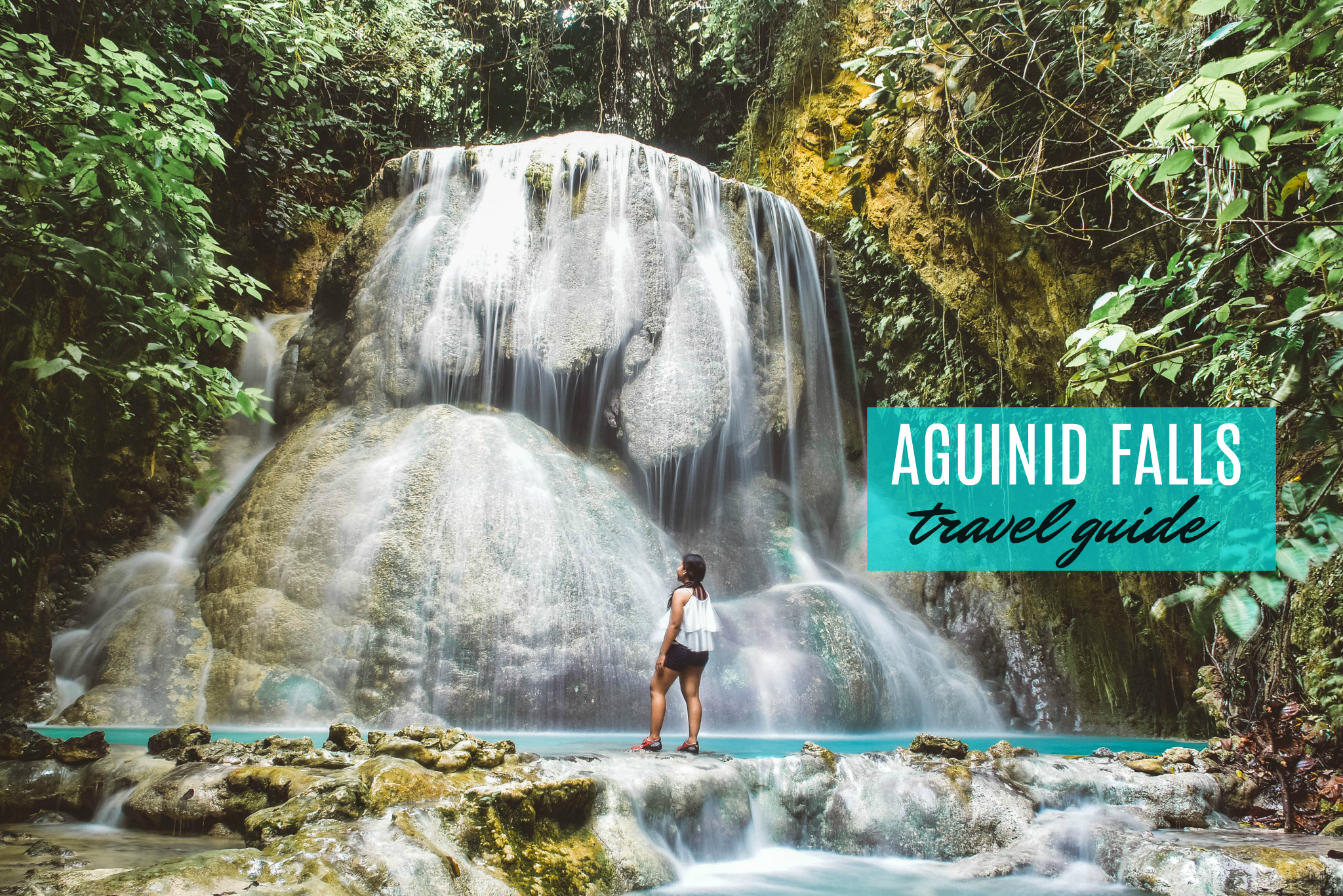 AGUINID FALLS: Travel Guide (Itinerary and Budget) 2018