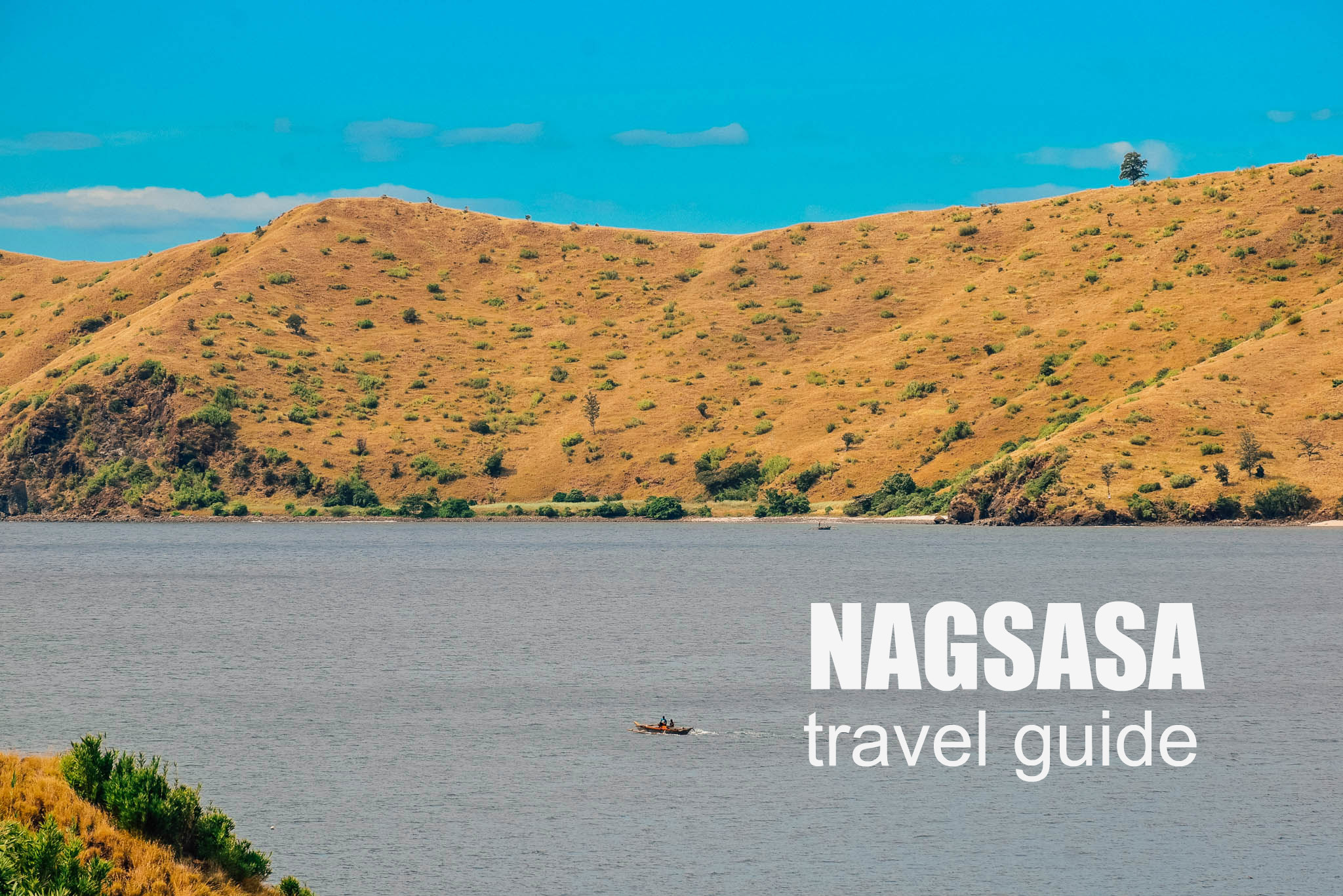 NAGSASA COVE Travel Guide Blog (Budget + Itinerary)