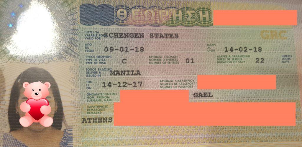 GREECE TOURIST VISA Schengen GREECE VISA for