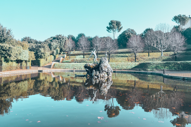 FLORENCE ITALY - boboli garden