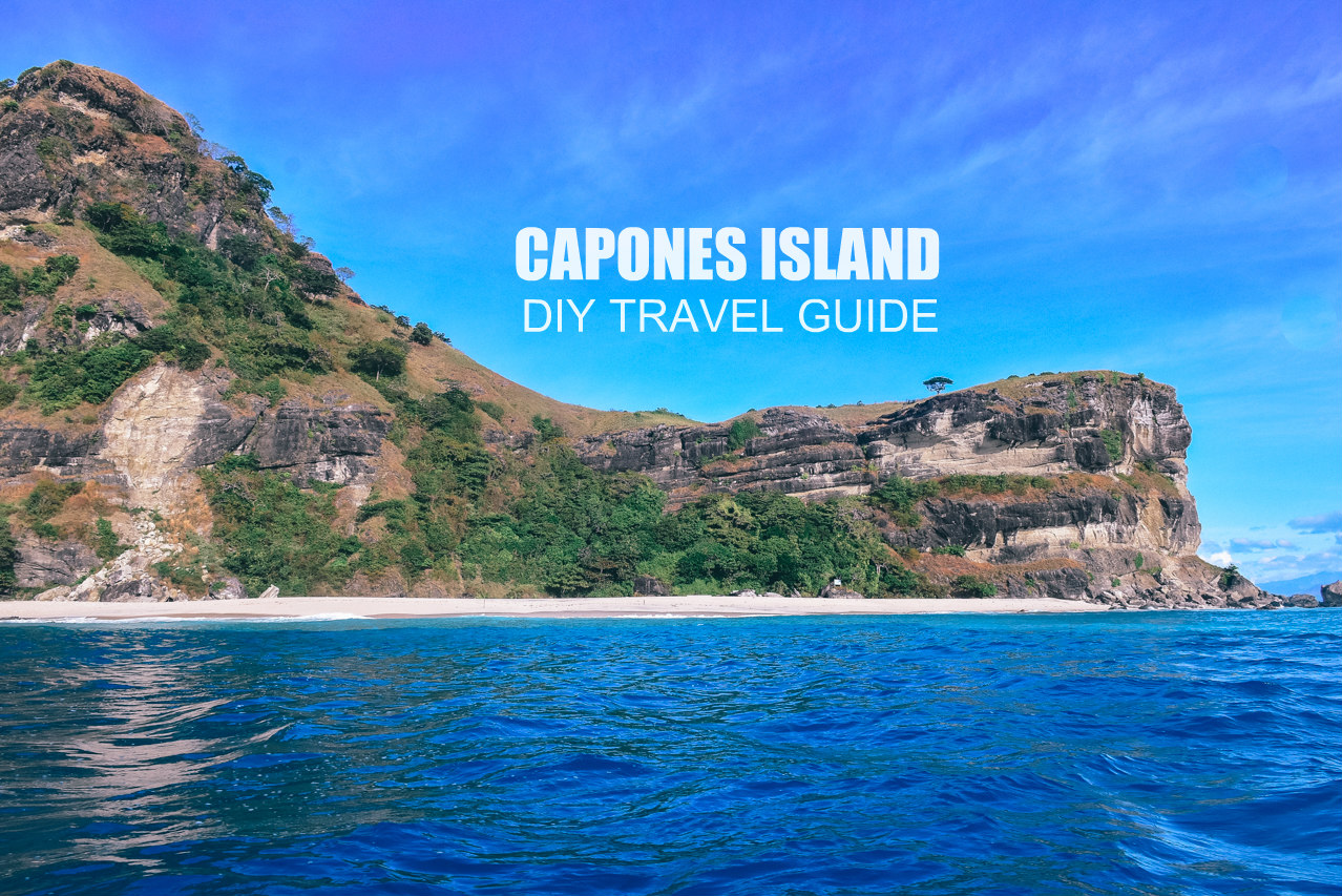 CAPONES ISLAND: DIY Travel Guide Blog 2018 (Itinerary + Budget)