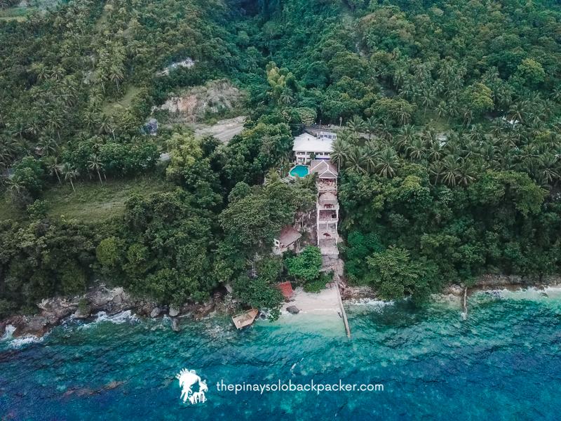 Fantasy Lodge Samboan Cebu aerial shot