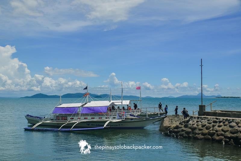 Lakawon Island boat