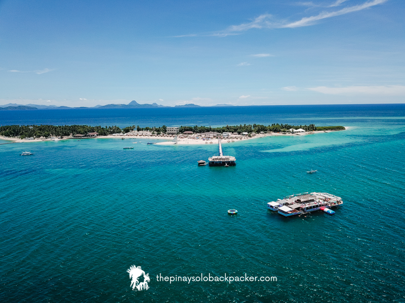 Lakawon Island aerial photo