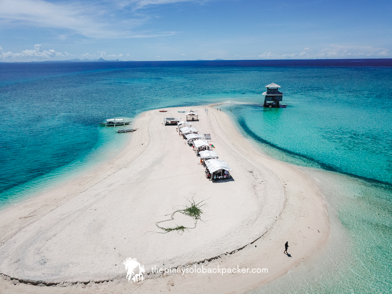 carbin reef photo - aerial