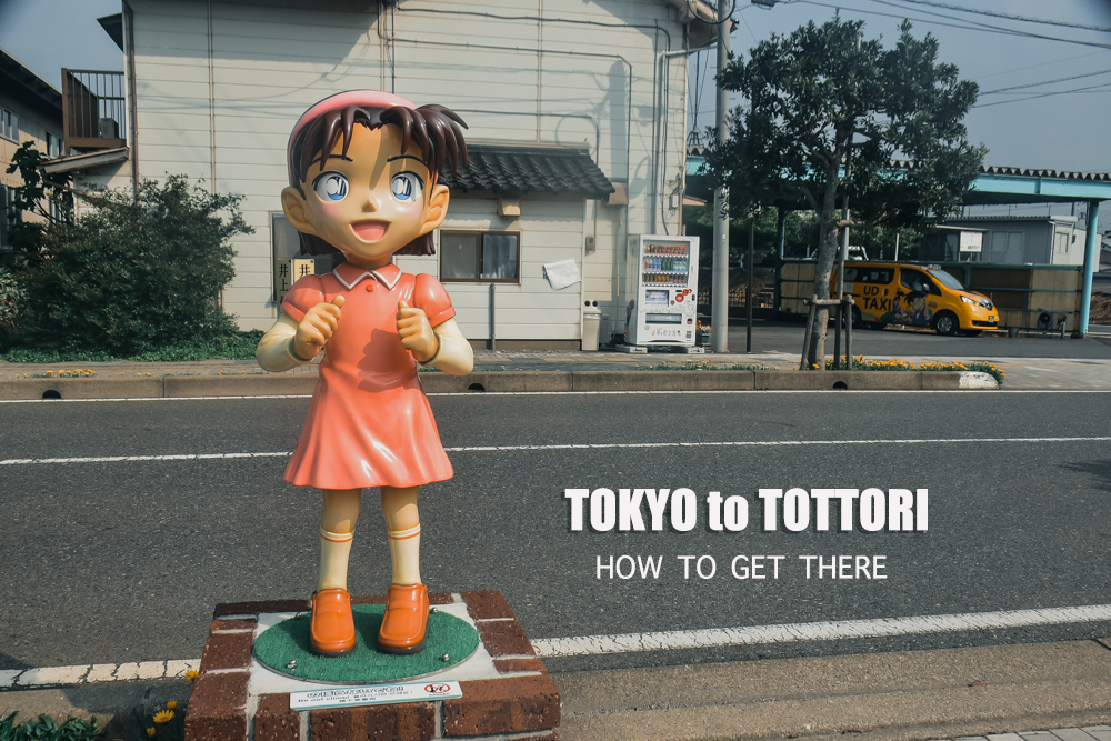 TOKYO to TOTTORI : Getting There