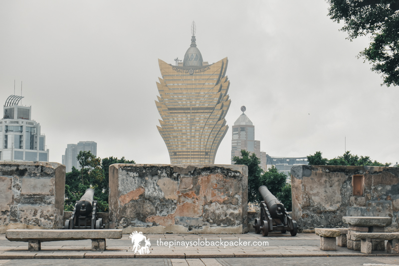 Macau tourist spots - Monte Fortress