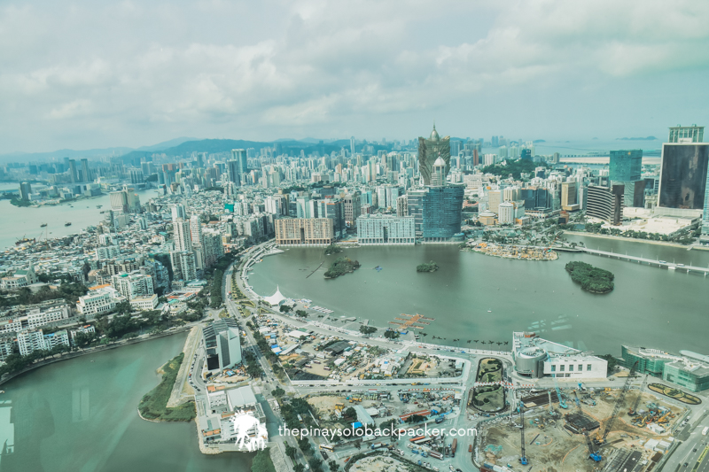 macau panoramic view