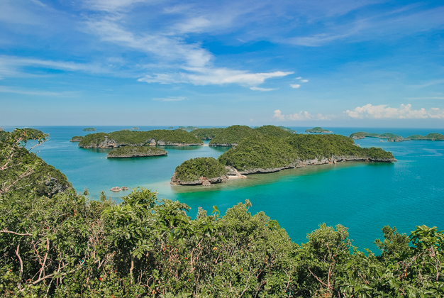 HUNDRED ISLANDS VIEW