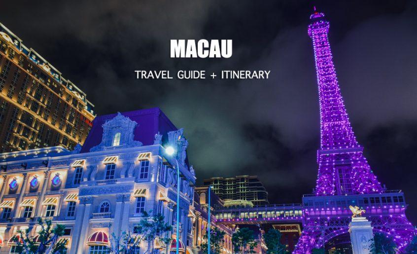 MACAU ITINERARY