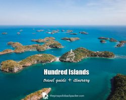 Hundred Islands travel guide