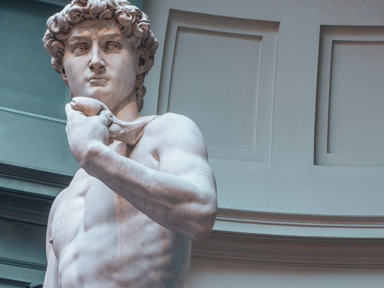 Florence Itinerary- David by Michelangelo