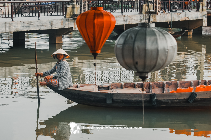 HOI AN itinerary - boat
