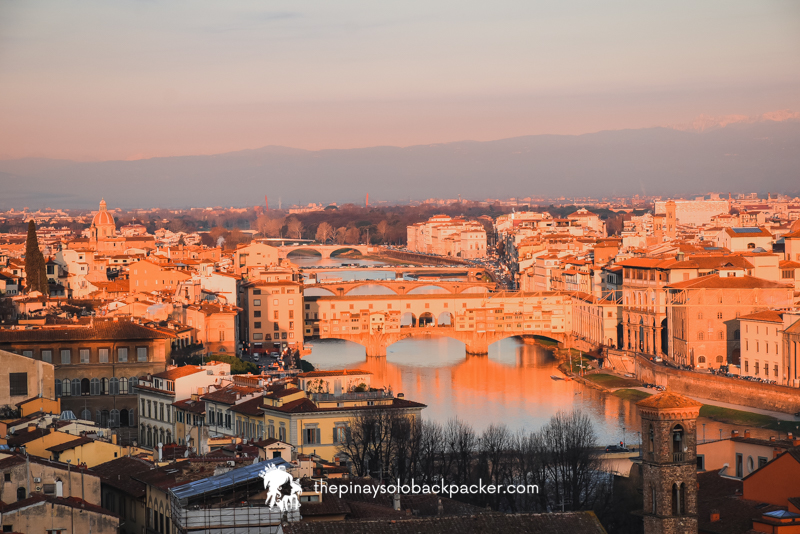 Florence Itinerary - Ponte Vecchio