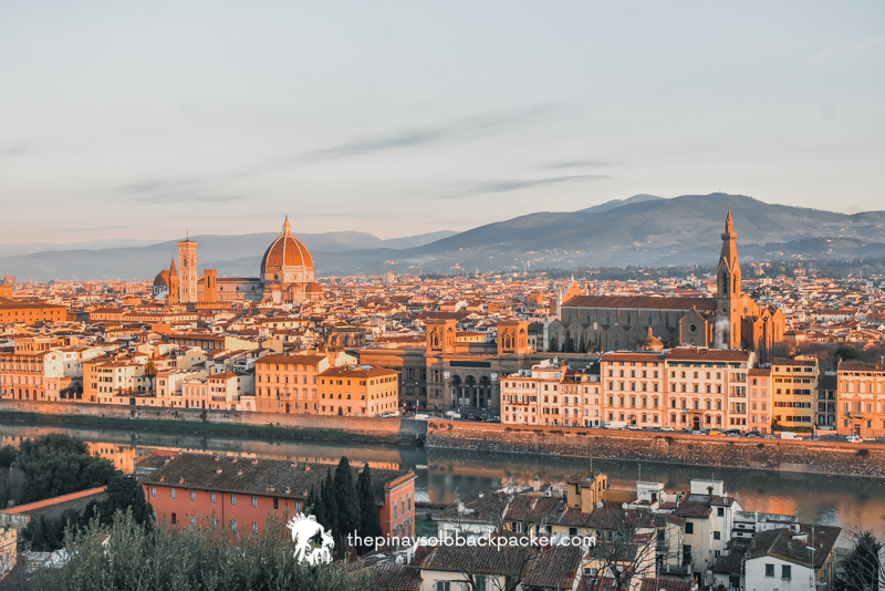 Florence Itinerary - Piazzala Michelangelo