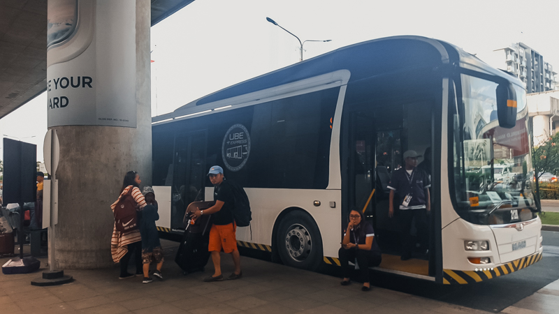p2p bus NAIA TO ALABANG