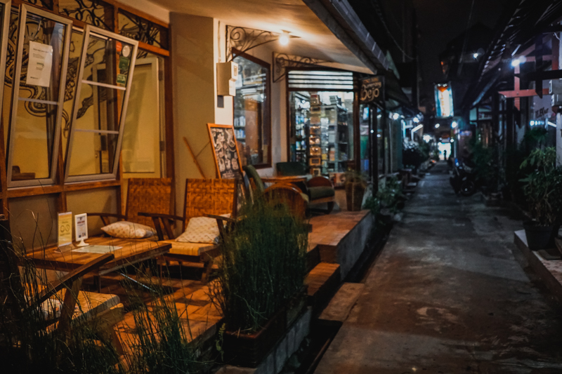 Yogyakarta Backpacking street