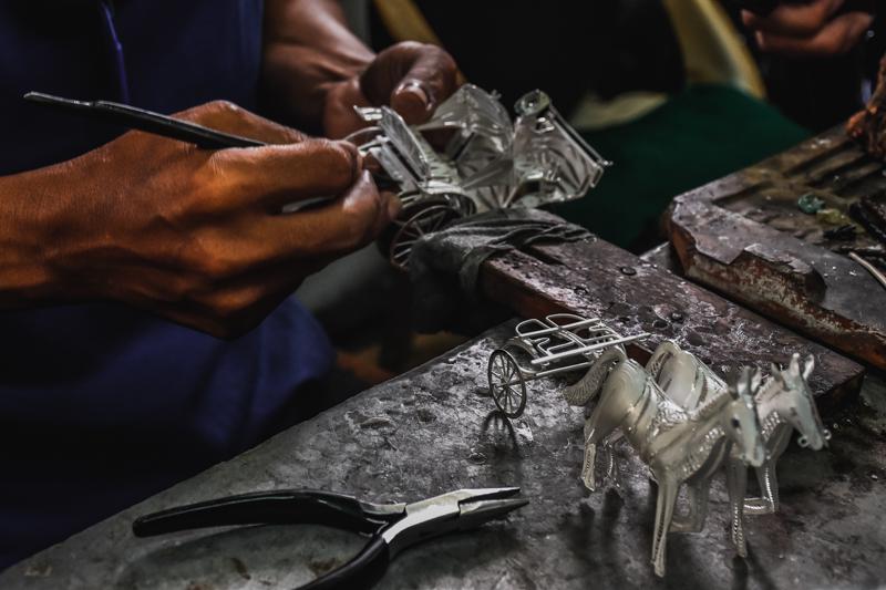 kotagede silver making