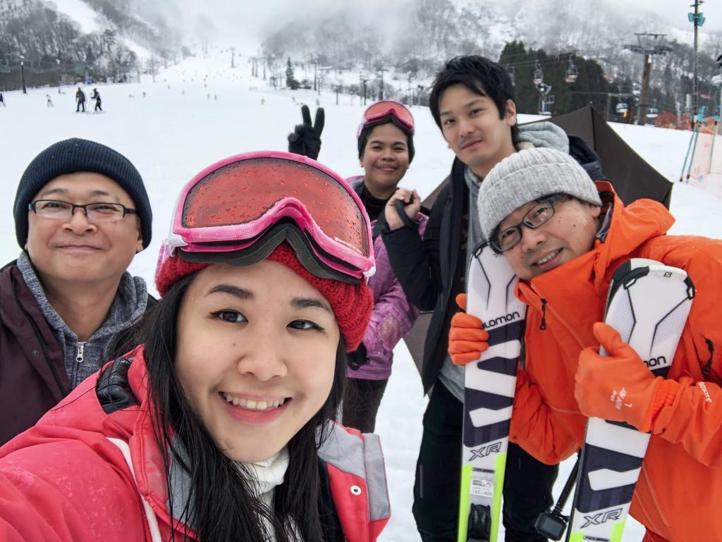 Hakuba skiing