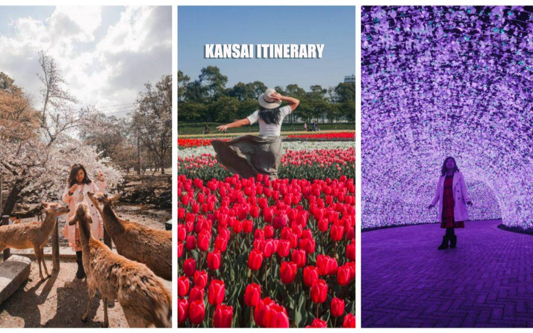 KANSAI ITINERARY: Osaka – Nara – Mie, JAPAN