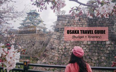 OSAKA TRAVEL GUIDE (BUDGET + ITINERARY)