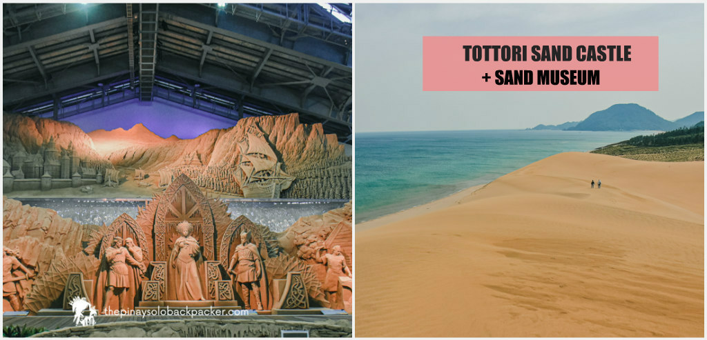 TOTTORI SAND DUNES AND SAND CASTLE MUSEUM: TRAVEL GUIDE + ITINERARY