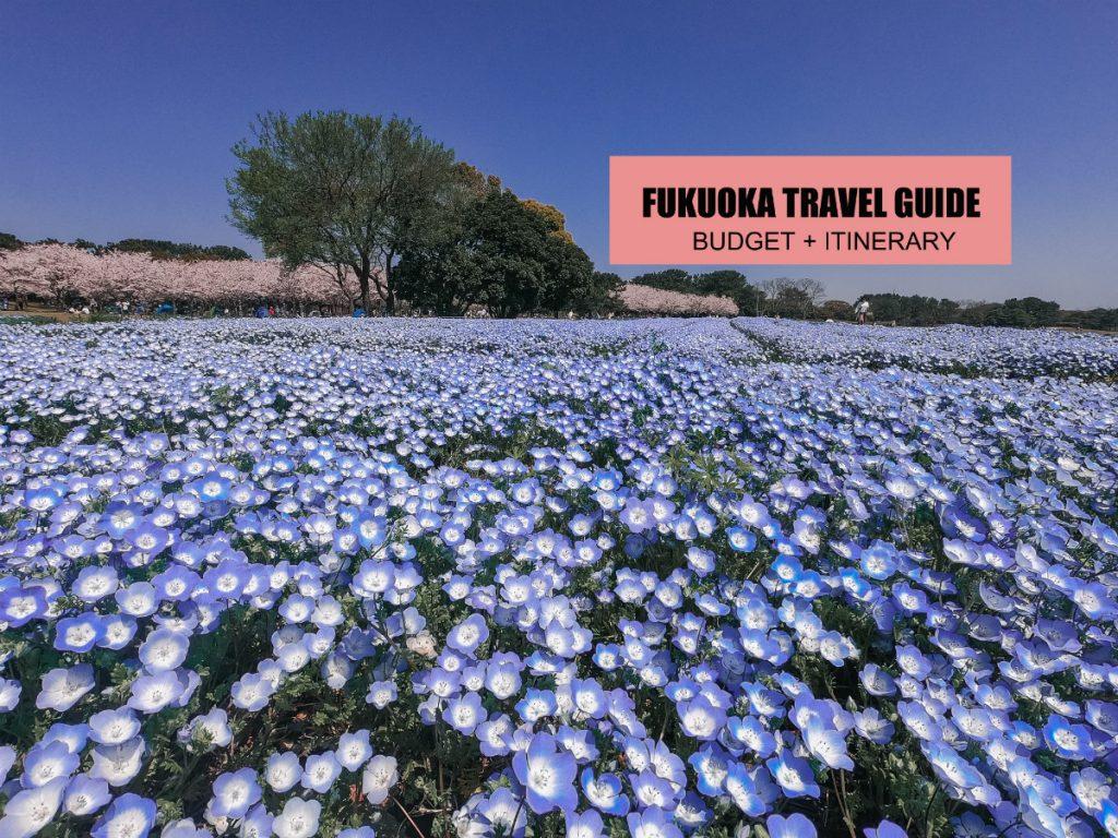 FUKUOKA: TRAVEL GUIDE (ITINERARY + BUDGET) 2019 BLOG – The ...