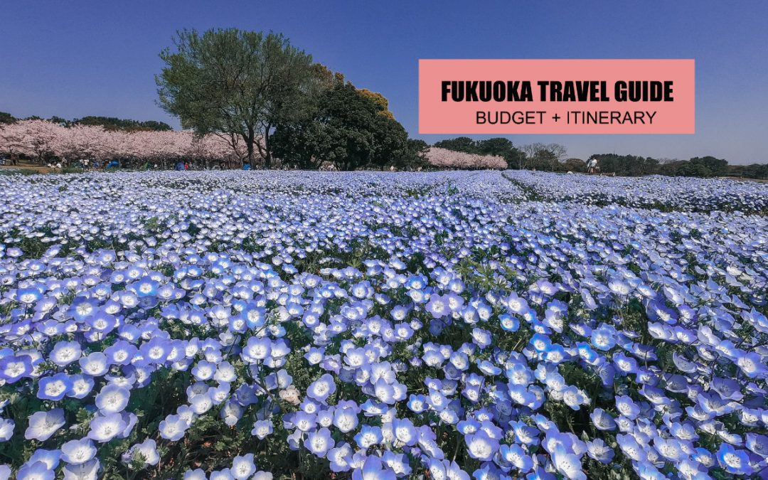 FUKUOKA TRAVEL GUIDE (ITINERARY + BUDGET)