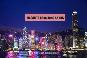 MACAU TO HONG KONG BY BUS