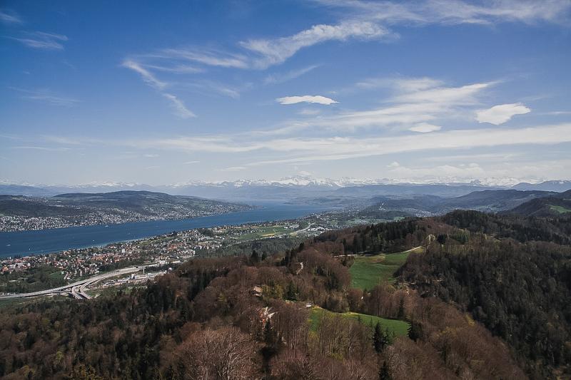 ZURICH TOURIST SPOT - UETLIBERG