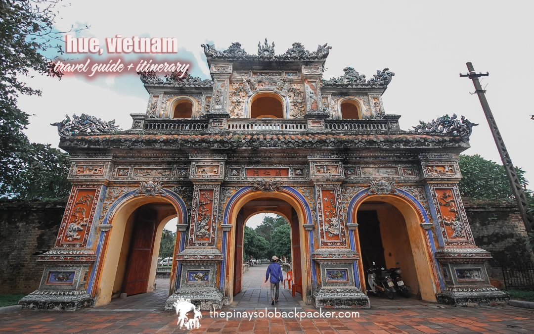 HUE ITINERARY + TRAVEL GUIDE