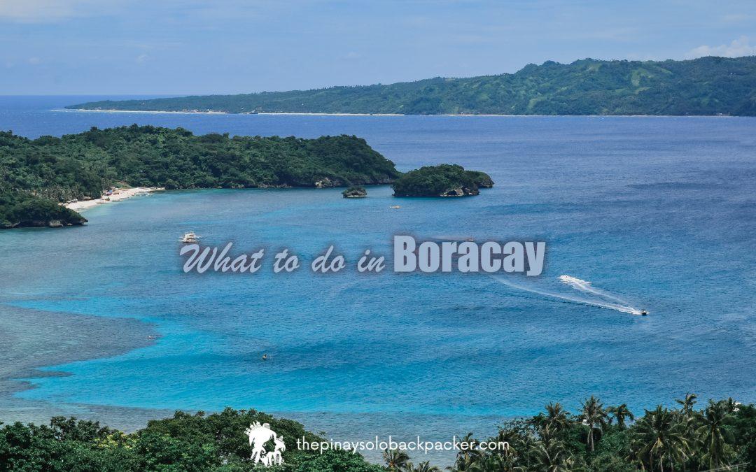 BORACAY TOURIST SPOTS AND BORACAY THINGS TO DO