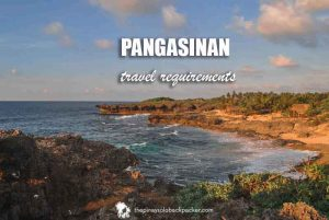 Pangasinan Travel Requirements
