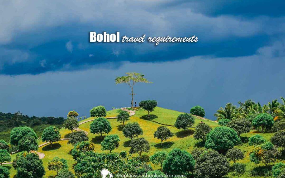 BOHOL TRAVEL REQUIREMENTS 2021